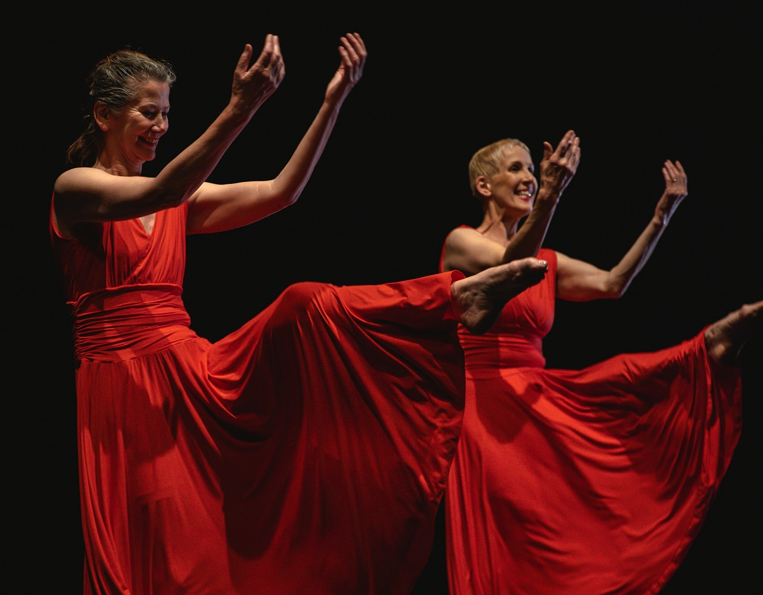 Dancers Jane Mooney (left) And Sandy Cuthbert (right) Star In Epilogue A Dancer Dies Twice Which Screens From 11 13 Oct As Part Of Belfast International Arts Festival.