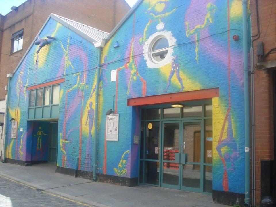 Belfast Community Circus School's Building on Gordon Street